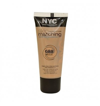NYC SKIN FOUNDATION MATCHING 688 MEDIUM 30 ML