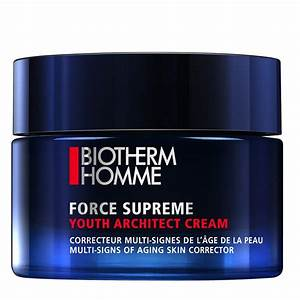 BIOTHERM HOMME FORCE SUPREME YOUTH ARCHITECT CREMA 50 ML TESTER