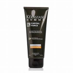 KERASTASE HOMME CAPITAL FORCE GEL FIXANT SCULPTANT 150 ML
