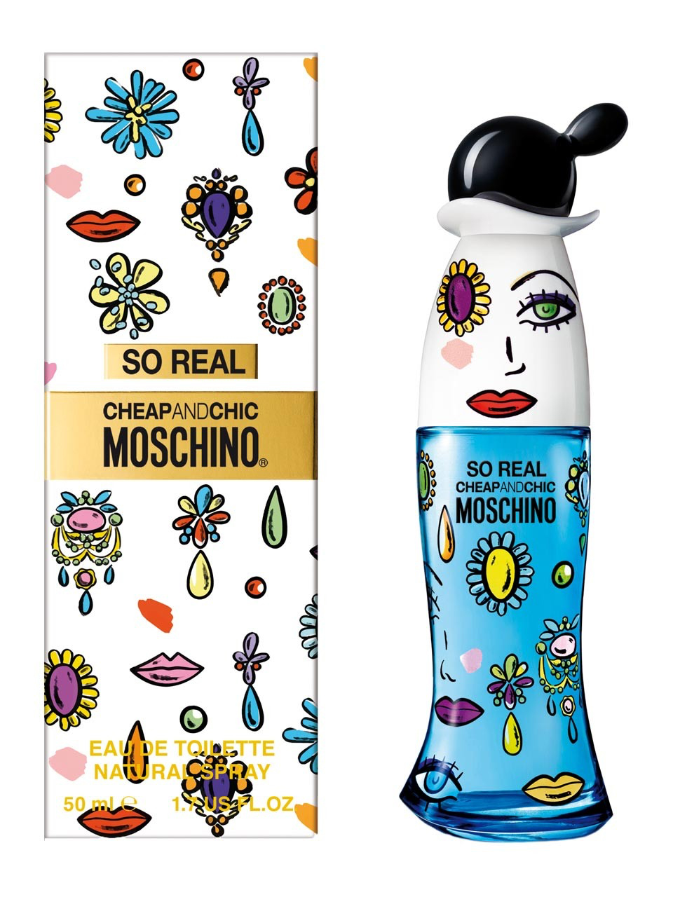 MOSCHINO CHEAP AND CHIC SO REAL EDT 100ML @