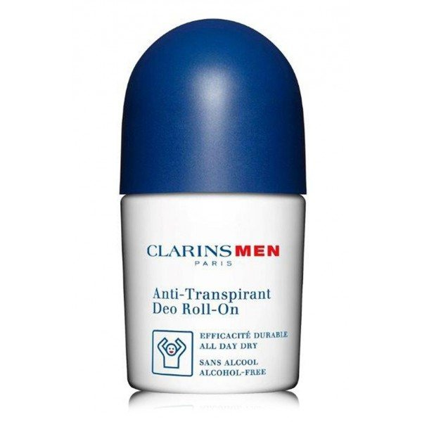 CLARINS MEN DEO EN ROLL ON ANTI TRANSPIRANTE SIN ALCOHOL 50 ML TESTER