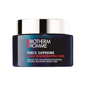 BIOTHERM HOMME FORCE SUPREME BLACK REGENERATING CARE CREMA ROSTRO 75 ML TESTER