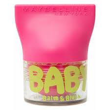 MAYBELLINE BABY LIPS BALM & BLUSH 02 FLIRTY PINK 3,5 GR  (Sin caja)