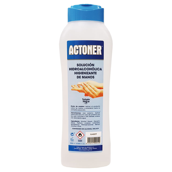 ACTONER HIGINIEZANTE 800 ML REGULAR