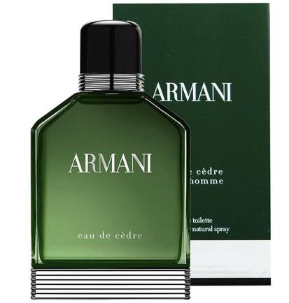 06dd1a5e6f47d ARMANI POUR HOMME EAU CEDRE EDT 100ML   Marca Giorgio Armani Armani Eau de  Cèdre de Giorgio Armani es una fragancia de la familia olfativa Amaderada  ...