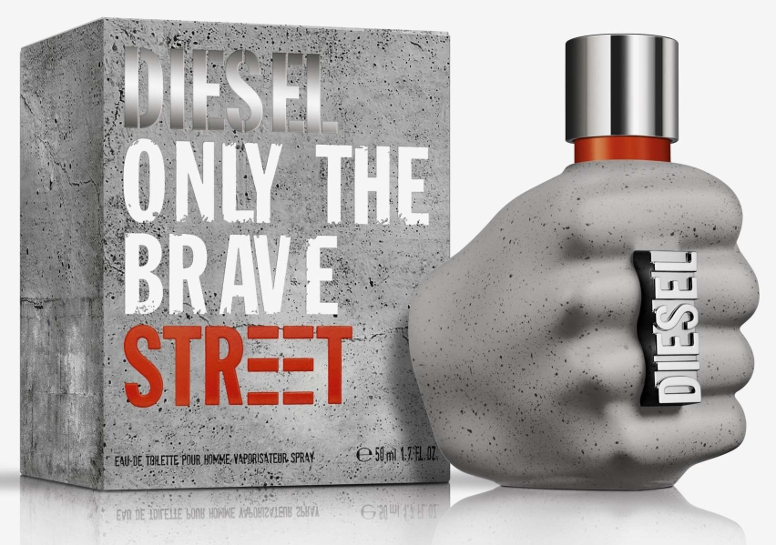 DIESEL ONLY THE BRAVE STREET EDT 75 ML @