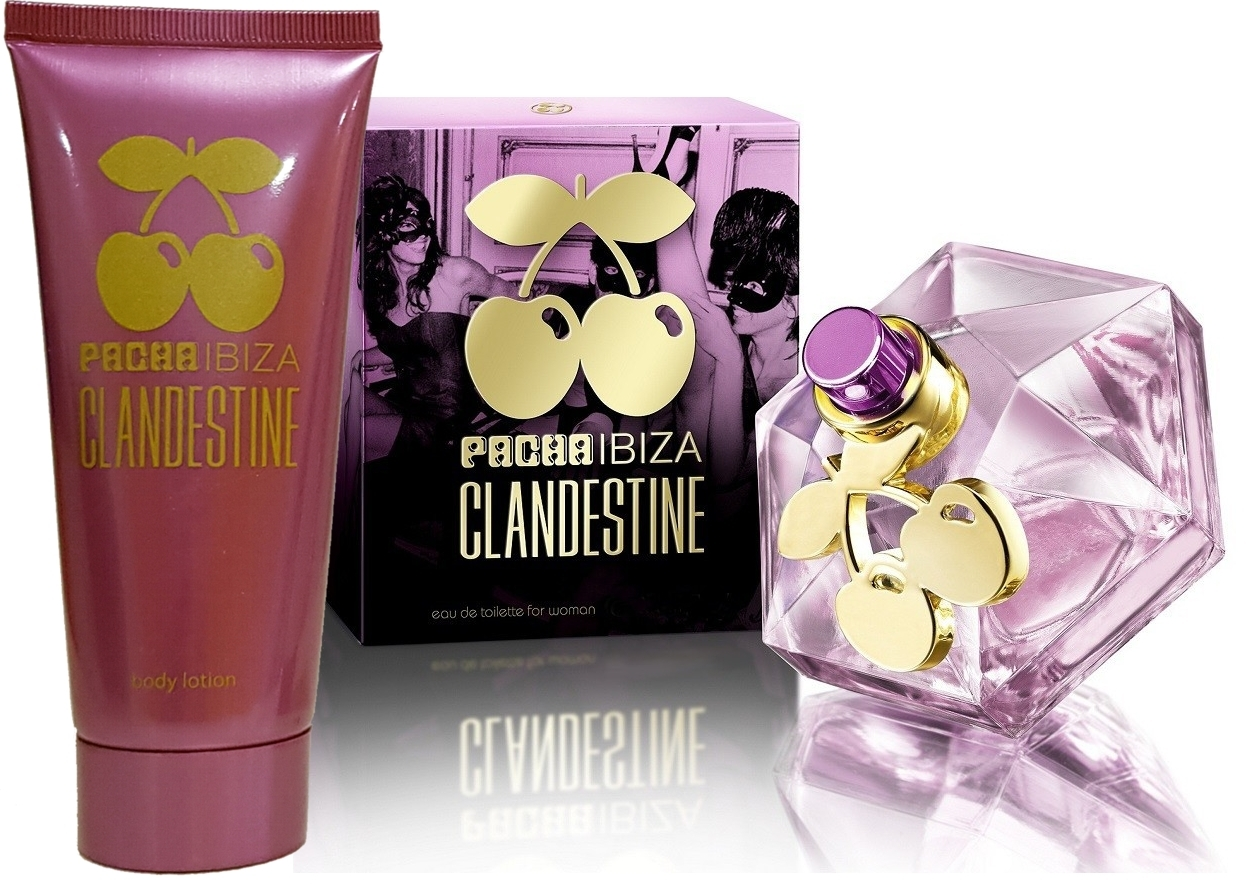 PACK PACHA IBIZA CLANDESTINE WOMAN EDT 50 ML @ + CLANDESTINE HER CHAMPU 75 ML