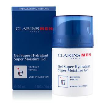 CLARINS MEN GEL SUPER HIDRATANTE 5O ML TESTER