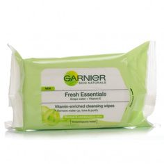 TOALLITAS GARNIER FRESH ESSENCIALS  (25 toallitas) REGULAR