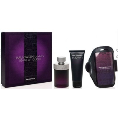 SET HALLOWEEN MAN EDT 125 ML  + SHOWER GEL 100 ML + FUNDA-CINTA MOVIL