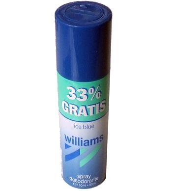 WILLIAMS DESODORANTE ICE BLUE 200 ML