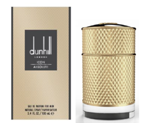 DUNHILL ICON ABSOLUTE EDP 100 ML  (caja dañada)