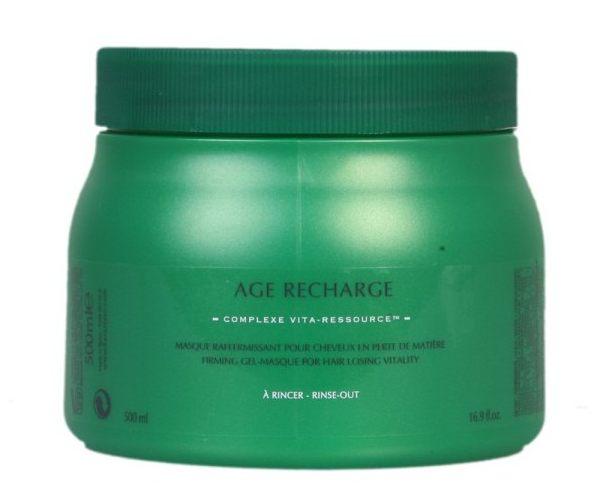 67bcb9125 Marca:KERASTASE AGE RECHARGE, mascarilla reafirmante para cabellos con  pérdida de materia. Aplicar de 1 a 2 nueces de producto sobre los cabellos  lavados y ...