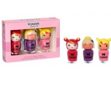 SET KOKESHI 3 LACA DE UÑAS 3x5 ML