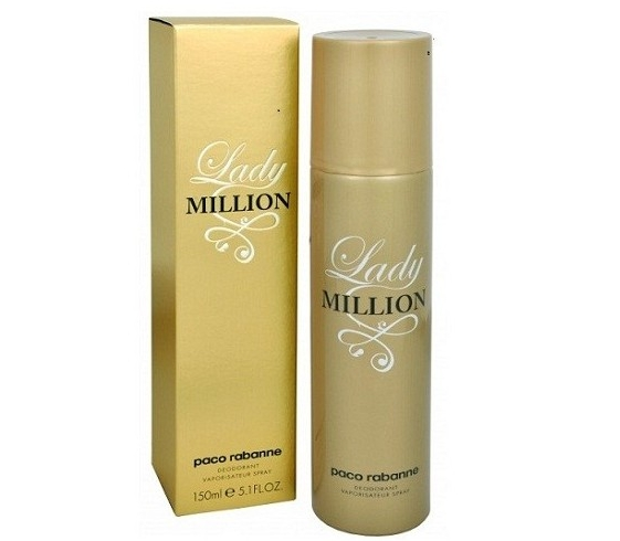 LADY MILLION PACO RABANNE DESODORANTE SPRAY 150ML