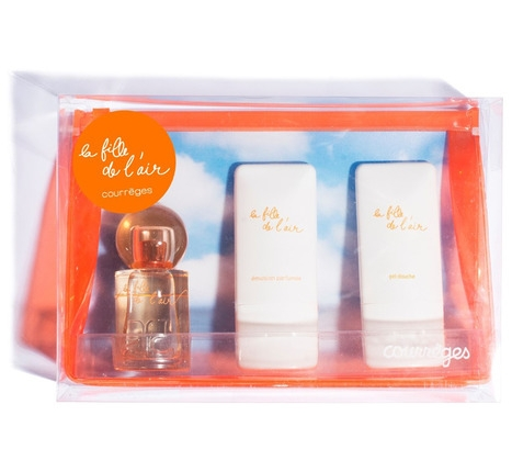 SET COURREGES LA FILLE DE L`AIR EDP 50 ML + SHOWER GEL 50 ML + BODY LOCION 50 ML