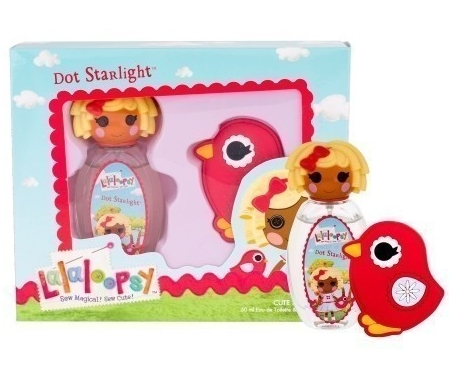 SET LALALOOPSY DOT STARLIGHT SET EDT 50 ML + HAIR CLIP