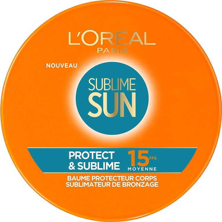 LOREAL SUBLIME SUN PROTECT & SUBLIME SPF15 BALSAMO PROTECTOR SUBLIMADOR CUERPO 100 ML REGULAR @ ~