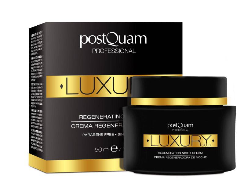 POSTQUAM LUXURY GOLD CREMA REGENERADORA DE NOCHE 50 ML REGULAR