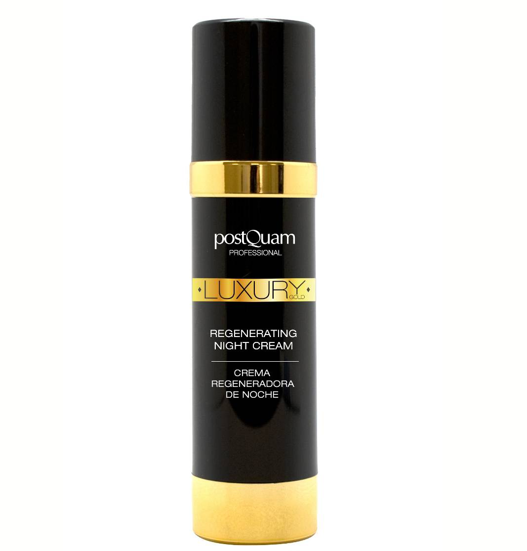 POSTQUAM LUXURY GOLD CREMA REGENERADORA DE NOCHE 50 ML REGULAR (FORMATO TUBO)