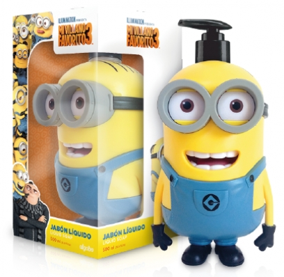 MINIONS GEL DUCHA 3D 300 ML @