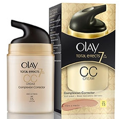 OLAY TOTAL EFFECTS 7 EN UNO CC CREAM MEDIO A OSCURO 50 ML REGULAR