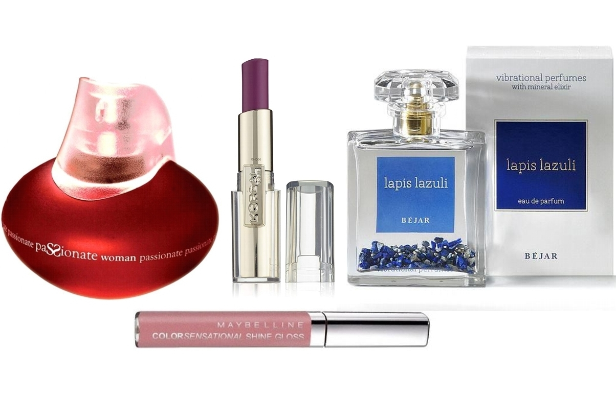 PACK RAMON MOLVIZAR PASSIONATE WOMAN EDP 100 ML @ + LAPIS LAZULI EDP 100 ML @ + LOREAL BARRA DE LABIOS CARESSE 203 ROCK IN MAUVE  + MAYBELLINE COLOUR SENSATIONAL SHINE GLOSS 137 FABULOUS PINK