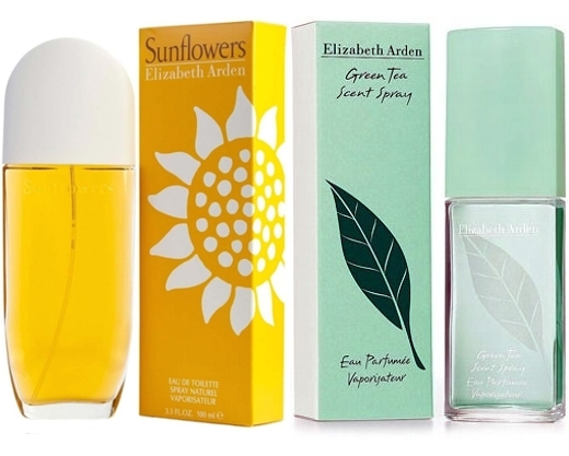 PACK SUNFLOWERS EDT 100ML @ + GREEN TEA EDP 100 ML @