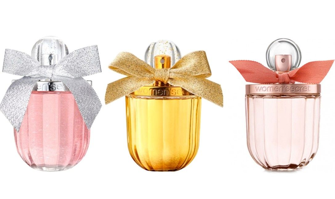PACK 3 FRAGANCIAS WOMAN SECRET: GOLD SEDUCTION EDP 100 ML @ + ROSE SEDUCTION EDP 100  ML @ + EAU MY SECRET EDT 100 ML