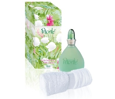 SET CAJA PRIORITE EDT 100 ML  + TOALLA