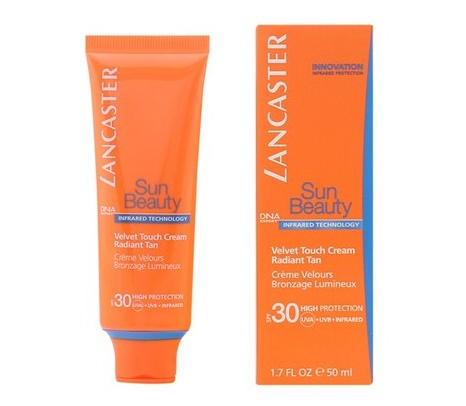 LANCASTER SUN BEAUTY FACE VELVET CREAM SPF30 50 ML REGULAR