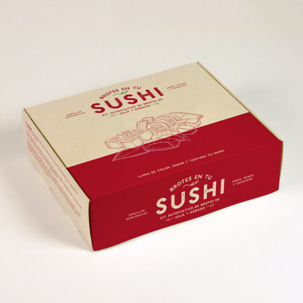 KIT AUTOCULTIVO DE BROTES SUSHI REGULAR