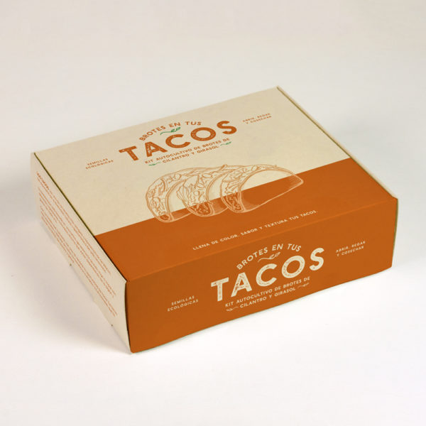 KIT AUTOCULTIVO DE BROTES TACOS REGULAR