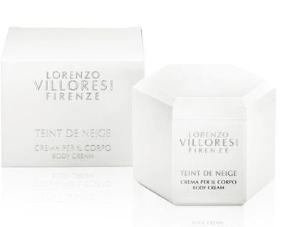 LORENZO VILLORESI TEINT DE NEIGE BODY CREAM 250 ML @
