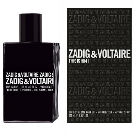 ZADIG & VOLTAIRE THIS IS HIM EDT 100 ML @