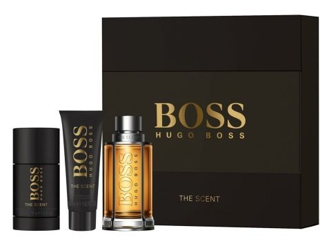 SET HUGO BOSS THE SCENT EDT 100 ML + DEO STICK 75 ML + SHOWER GEL 50 ML