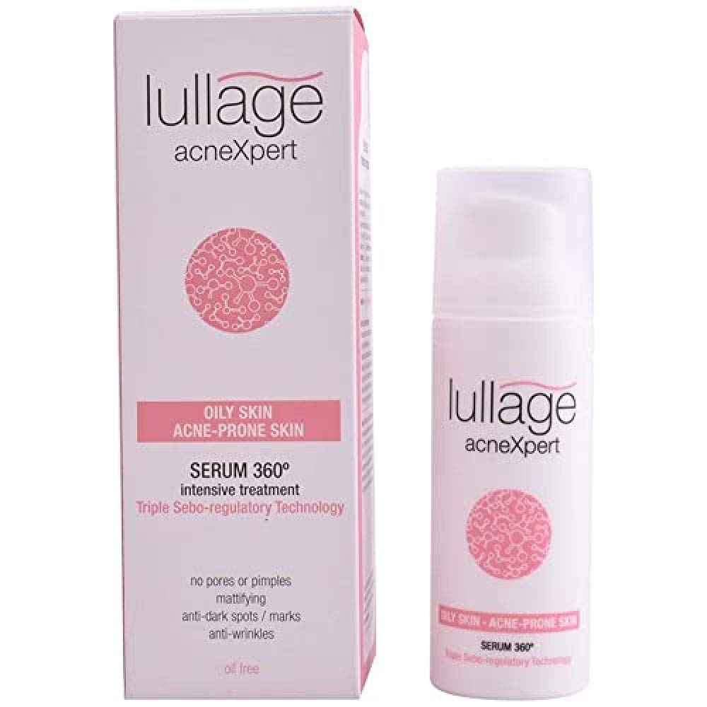 LULLAGE ACNEXPERT OILY SKIN ACNE PRONE SKIN SERUM 360, TRIPLE SEBO 50 ML TESTER