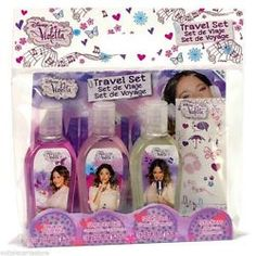SET VIOLETTA TRAVEL EDT 75 + GEL DUCHA + CHAMPU