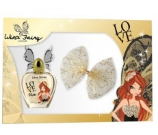 SET WINX FAIRY BLOOM EDT 50 + PINZA PELO
